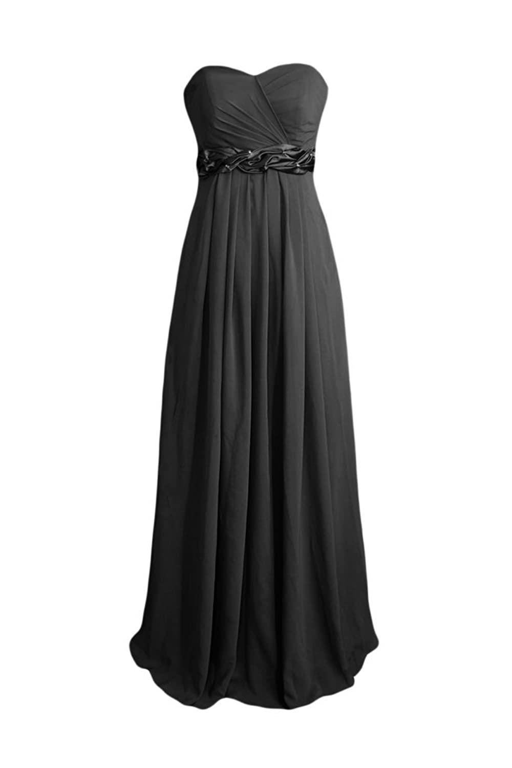 Empire Chiffon Formal Dress Beach Bridesmaids Dress (BM98480)