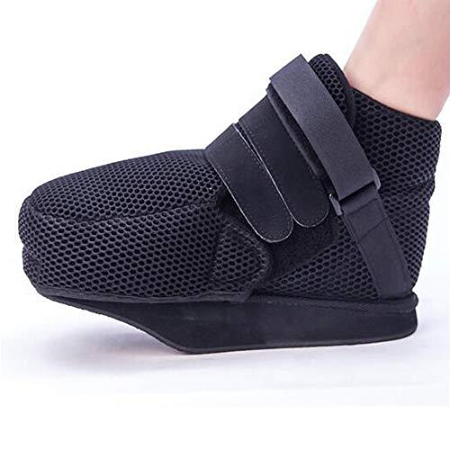 研究忌まわしい東ティモール医療足骨折石膏の回復靴の手術後のつま先の靴を安定化骨折の靴を調整可能なファスナーで完全なカバー,S24cm