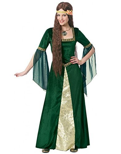 [Renaissance Lady Costume - Large - Dress Size 12-14] (Renaissance Princess Adult Costumes)
