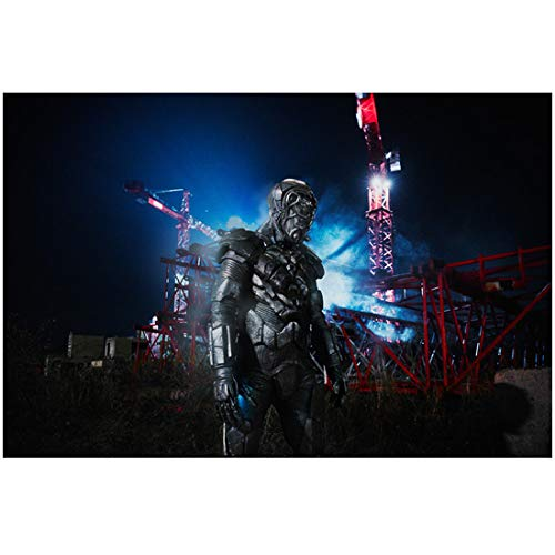 - Doctor Who (2018 Season 14) 8Inch x 10Inch on set photo machine man work crane in background ed