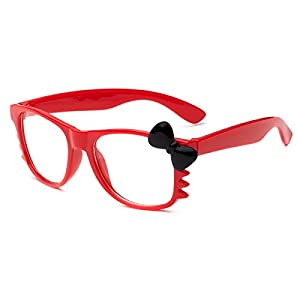 Hello Kitty Kids Baby Toddler Clear Lens Sunglasses Age up to 4 years - Red