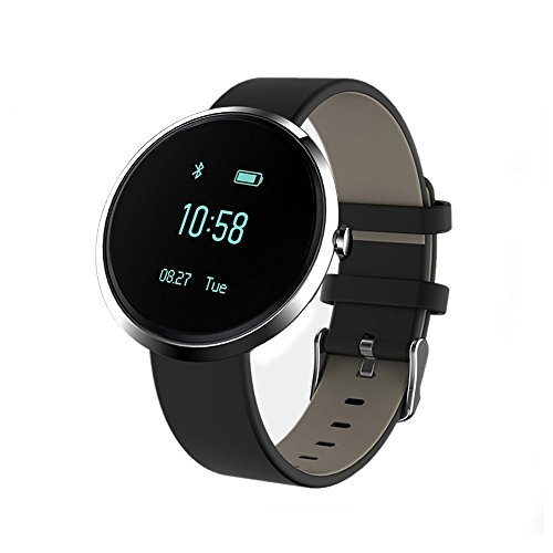Smart Watch, ETTG Bluetooth Watch Heart Rate Monitor Alcohol Allergy Detection Sports Tracker Sleeping Blood Pressure Call Alarm