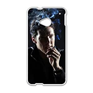 Benedict Cumberbatch HTC One M7 Cell Phone Case White VC161N14