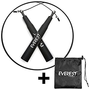 EVEREST FITNESS Profi - Springseil mit Kugelgelenk / High Speed Seil /...
