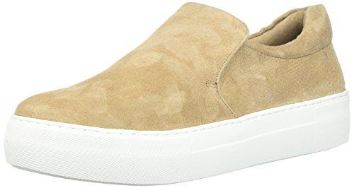 J Slides Women Acer Sneaker Taupe Suede