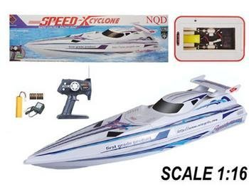 "37"" Speed X Cyclone Radio Control EP RC Racing Boat ---New!!"