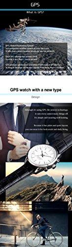 LAD-WEATHER-GPS-watch-business-simple-100-Meters-waterproof-Flight-Mode