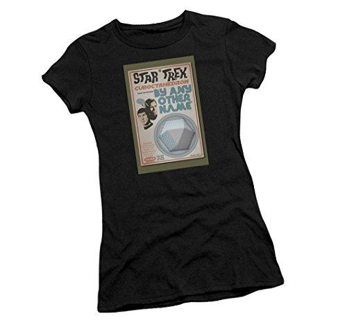 TOS Episode 51 -- Star Trek Episode Art Juniors T-Shirt, Medium