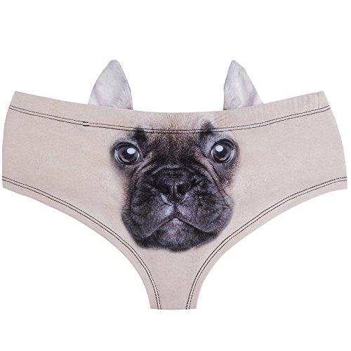 - Women's Animal Print Hipster Panty Sexy Lingerie Underwear Briefs