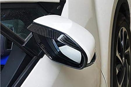 Chrome Nicebee 2pcs//Set ABS Car Rearview Mirror Rain Eyebrow Rain Shade Shield Decoration Frame Trim Cover for Toyota C-HR CHR 2018 2019