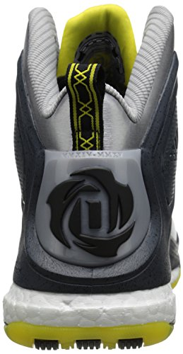 Scarpa Da Basket Adidas Performance Mens D Rose 5 Boost Argento