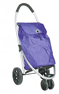 Play - Carro Compra Play Go Three Lila 23935225 , 48L, Peso 3.2 Kg, Bolsa Lavable, 3 Ruedas, Plegable, Comodo De Guardar. Lila.