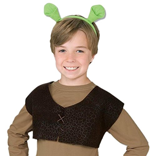 Shrek Ears and Vest Costume Accessory Kit - 2016 Adult Costumes Ideas