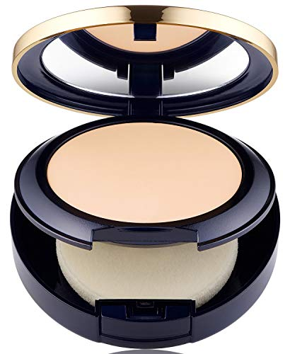 Estee Lauder Double Wear Stay-in-Place Matte Powder Foundation 1C1 Cool Bone 0.42 OZ. (Best Setting Powder For Estee Lauder Double Wear)