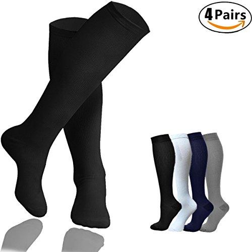Jurgen K Sport Compression Socks for Women & Men-Best Compression Stockings for Pregnancy/Nurse