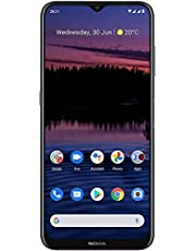 Nokia G20 | Android 11 | Unlocked Smartphone | 3-Day Battery | Dual SIM | US Version | 4/128GB | 6.52-Inch Screen | 48MP Quad Camera | Polar Night