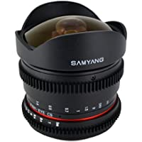 Samyang Cine SY8MV-C 8mm T3.8 Cine for Canon Video DSLR with Declicked Aperture