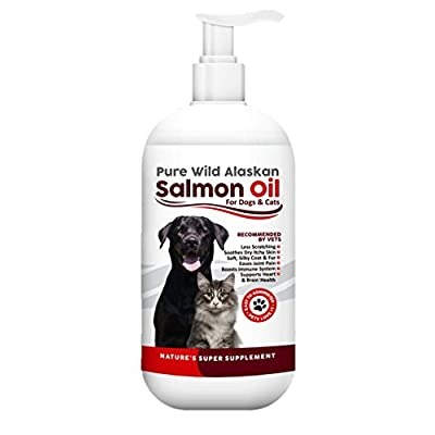 Cat Health Products Pure Wild Alaskan Salmon Oil for Dogs & Cats –... [tag]