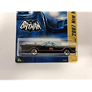 1966 TV Series BATMOBILE Hot Wheels 2007 New Models DC Batman diecast
