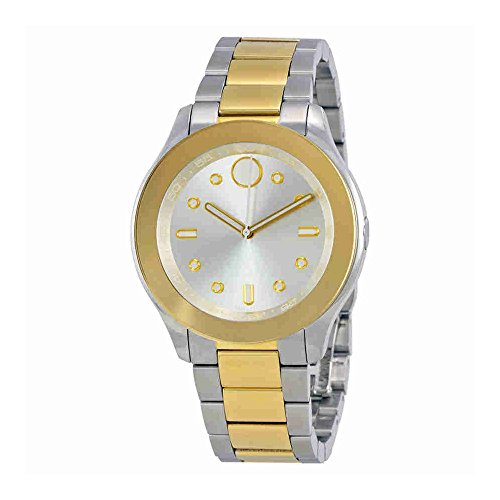 Women's Swiss Quartz Two-Tone and Stainless Steel Casual Watch, Color:Two (Model: ) - Movado 3600418