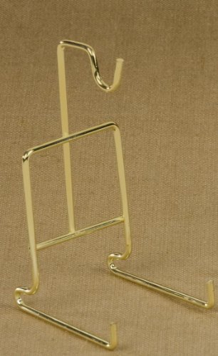 Standard Smooth Wire Cup and Saucer Stand (Brass)
