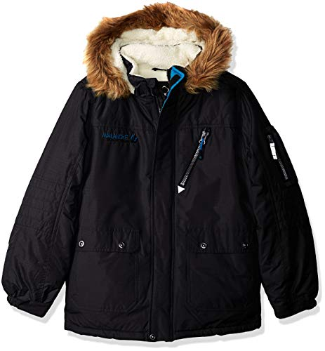 Big Chill Boys' Big Sherpa Lined Expedition, deep Black 10/12