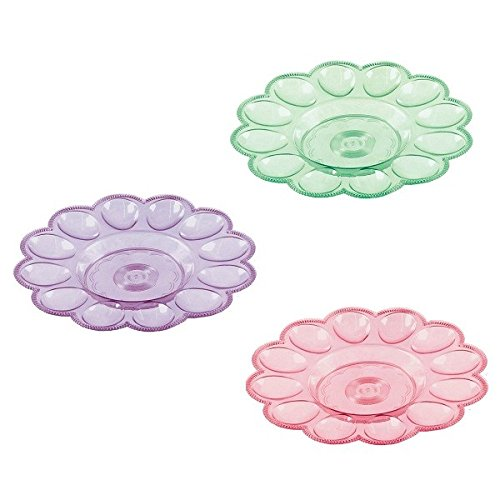 Amscam Round Egg Tray (3 Per Pack), Multicolor AMI 438849.99