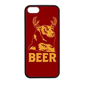 lintao diy funny beer image,interesting beer quotes Apple iphone 5,5s Plastic and TPU(Laser Technology) Durable Case, Cell Phone Cover