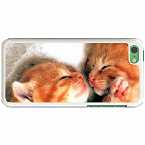 Custom Fashion Design Apple iPhone 5C Back Cover Case Personalized Customized Diy Gifts In Cuddie buddy boo White