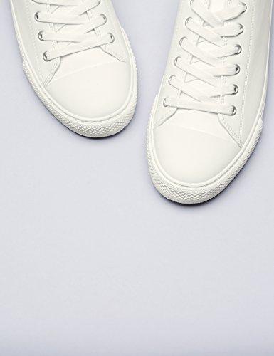 White Basse da Scarpe Bianco FIND Donna Ginnastica wfqH4x4Ya