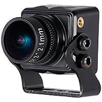 Goolsky RunCam Swift Mini 600TVL 2.1mm Lens DC 5-36V FPV Camera OSD w/ IR Blocked PAL for QAV250 Racing Drone Aerial Photography