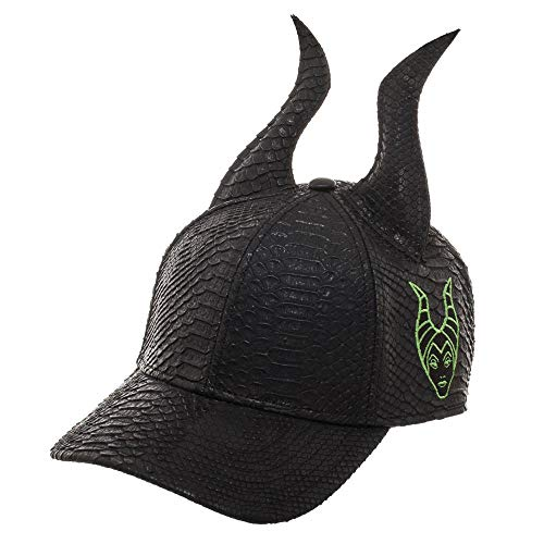 Bioworld Maleficent Horns Hat 3D Maleficent Hat Maleficent Gift - 3D Maleficent Accessory Maleficent Apparel Black