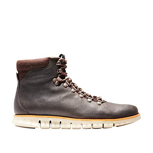 efd8a24cbc9c Cole Haan Men s Zerogrand Water Resistant Hiker Boot 7 Java  Leather-tumeric-Cobblestone