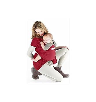 Je Porte Mon Bébé Basic Echarpe de Portage Crimson  Amazon.co.uk  Baby ff397780728
