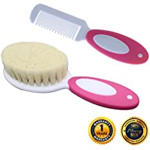 Cozy Blue Baby Brush and Comb Set (Pink)