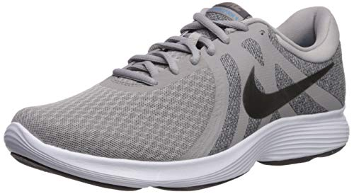 Nike Men's Revolution 4 Sneaker, Atmosphere Metallic Pewter-Thunder Grey, 7 Regular US