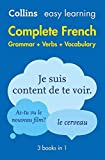 Complete French Grammar Verbs Vocabulary: 3 Books