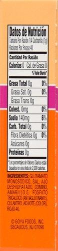 Goya Foods Sazon Coriander & Annatto, 1.41 Ounce (Pack of 36) by Goya (Image #2)