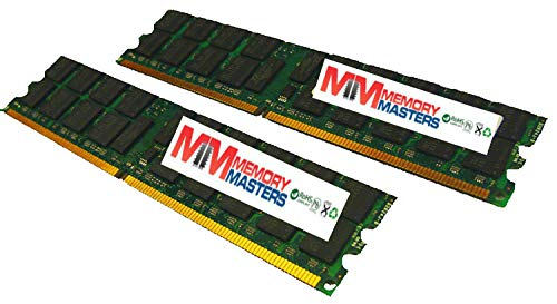 MemoryMasters 4GB Kit 2 x 2GB Memory for Dell PowerEdge 2800 Server PC2-3200R ECC Registered DDR2-400 240 pin 1.8v DIMM (MemoryMasters)