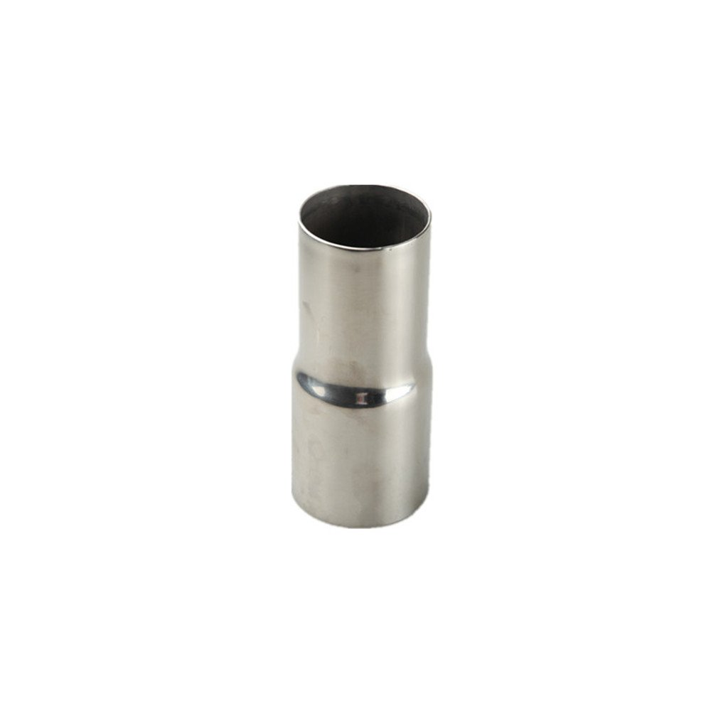 Universal 2'' ID To 2.25'' OD Exhaust Pipe Adapter Connector Reducer Stainless Steel