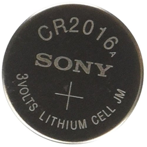 Lithium Blister Pack - Sony CR2016 3 Volt Lithium Manganese Dioxide Batteries, Genuine Sony Blister Packaging (20 Pieces)