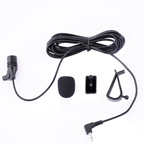 Galabox Microphone Mic 2.5mm For Car Vehicle Stereo Radio GPS DVD Bluetooth Enabled Head Unit