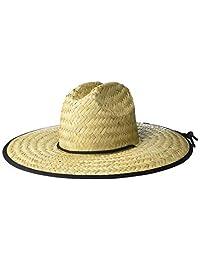28 Palms Standard Men's Straw Lifeguard Sun Hat
