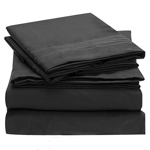 uxcell 4 Piece Pocket Brushed Microfiber