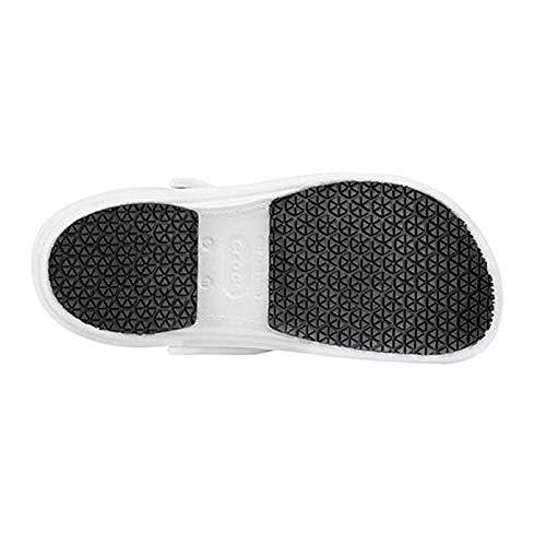Crocs Men's Bistro Bistro Bistro Sure Grip Clog Mule, Weiß, 4 M US 3d4162