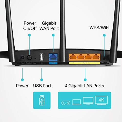 TP-Link AC1900 Smart Wireless Router - High Speed