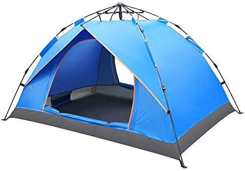Tent FGF 2 Persoon Waterdichte Camping Wandelen Tent Draagbare Anti-UV Tent Outdoor Automatische Tenten Grote Familie Snelheid Door Tent KEOGHS 2 persoons blauw 2 persoons blauw