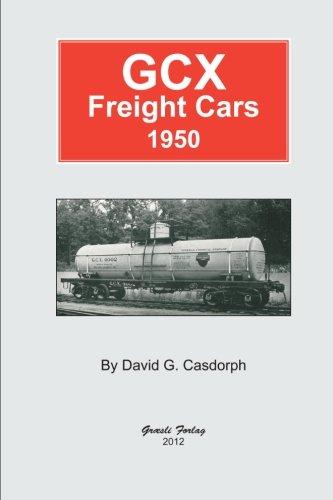Railroad Freight Car - GCX Freight Cars 1950