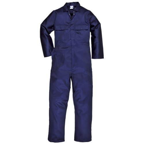 Portwest Mens Euro Work Polycotton Coverall (S999) / Workwear