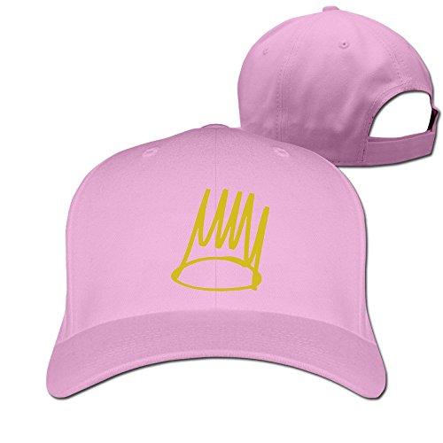 9b145cba0cd Unisex Born Sinner J. Cole Pink Hats Adjustable Snapback Caps One Size